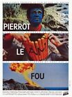 Pierrot Le fou Jean Paul Belmondo Jean Luc Godard 2 cult movie poster 24x32