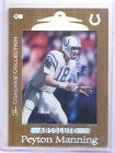 Peyton Manning Cards, Rookie Cards and Memorabilia Buying Guide 9