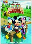 Mickey Mouse Clubhouse Mickeys Great Outdoors New DVD