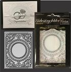 COUTURE CREATIONS Embossing Folders FRAMING THE BREEZE embossing folder wedding