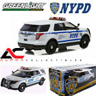 GREENLIGHT 12973 118 2015 FORD NYPD POLICE INTERCEPTOR NEW YORK UTILITY