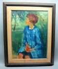 Large Original French Oil Painting