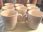 8 Corelle by Corning English Breakfast Cups Mugs 3 7/8