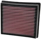 K&N 33-5005 Direct-Fit Replacement Air Filter 2013-2018 Dodge Ram 2500-5500 6.7L