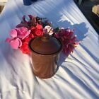FIESTA  NEW CHOCOLATE BROWN Small 1 quart Canister   FIESTAWARE