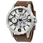NEW Fossil Nate Men's Hand Wind Watch - ME3128