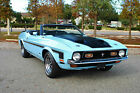 1972 Ford Mustang Convertible 351 V8 4 Speed Documented Restoration 1972 Ford Mustang Convertible 351 Q code 4 Speed Photo Documented Restoration
