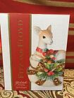 NIB  Fitz and Floyd Yuletide Holiday Salt & Pepper Shakers Deer 2016 $40 49-528