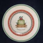 "Villeroy & Boch Festive Memories Treats Country Collection 8.5"" Plate"