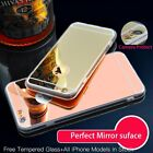 US Seller Bling Mirror Hard Case And Screen Protector Cute Glitter Cover Pink