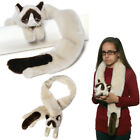 Gund Official Grumpy Cat Scarf Soft Plush Stuffed Animal Neck Warmer Accessories