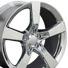 20 Chrome Camaro SS Style Wheels 20x9 Rims Fit Chevrolet Set of 4