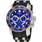 Invicta  Pro Diver 22971  Silicone, Stainless Steel Chronograph  Watch