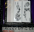 LONG STEMMED ROSES 2 FOAM RUBBER STAMPS LABLANCHE 1385 NIP