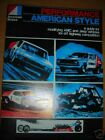 1970's AMC JAVELIN AMX GREMLIN HORNET PERFORMANCE MODIFICATIONS PARTS MANUAL