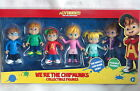 Alvin WE'RE THE CHIPMUNKS 6 Action Figure Set Chipettes *NEW*