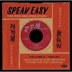 Speak Easy ~ The RPM Records Story Volume 2 - 1954-57 Various Artists Audio CD