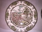 FRIENDLY VILLAGE ENGLAND CHINA  2002 DATED PLATE JOHNSON BROTHERS
