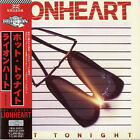 Hot Tonight Lionheart CD album (CDLP) Japanese RBNCD-1509 RUBICON 2012