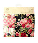 Anna Griffin ROSE Paper Pad  6x6  Gorgeous PINK RED ROSES