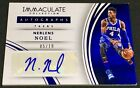 NERLENS NOEL 15-16 Panini Immaculate SAPPHIRE BLUE AUTO AUTOGRAPH SP #05 10 !