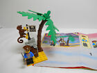 Lego Pirate's Treasure Hold (1889) 100% Complete w/1 MF & Instructions (#1891)
