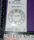 CLOCK FACE HANDS 3 CUTTING TEMPLATE DIE CUT MOMENTA
