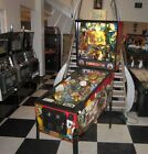 HOOK PINBALL MACHINE w PETER PAN w TOPPER ~ GREAT CONDITION! ~ LED UPGRADED