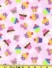 100  Cotton Flannel 21790 Pink by the yard