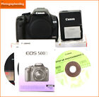 Canon EOS 500D 15MP DSLR Camera Body Battery  Charger 4810 Shots Free UK Post