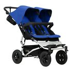 Mountain Buggy 2017 Evolution Duet Double Stroller - Marine - New! Free Shipping
