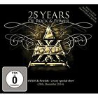 25 Years Of Rock And Power (Cd+dvd) Axxis Audio CD