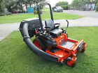Kubota Z125S Zero Turn 25 hp Kohler Gas 54 Rotary Mower Collection System