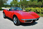 1972 Chevrolet Corvette Convertible Numbers Matching 350 4 Speed Restored 72 Chevrolet Corvette Convertible 350 4 Speed Leather Power Steering Brakes