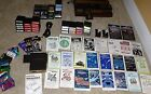 INTELLIVISION System - 37 Game Lot -  Booklets + Overlays TESTED