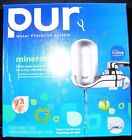 NEW PUR FM 4100B 3 Stage Vertical Faucet Water Filter System Gray