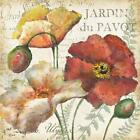 Spice Poppies Histoire Naturelle II by Tre Sorelle Studios Poster Frame 25 x ...