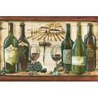 Wooden Wine Landscape by Tre Sorelle Studios Poster Frame 26 x 39 x 1.5 in.