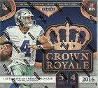 2016 Panini CROWN ROYALE Football NFL Trading Cards New Sealed 20ct. Retail Box