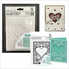 Xcut embossing folders A6 HEART FRAME Cut  Emboss embossing folder XCU503803