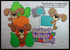 Pictures with the Easter Bunny Premade Paper piecing set  by scrappintoday