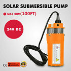 24V Farm  Ranch Submersible Deep Solar Well Water Pump for Watering Irrigation