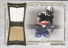 Brandin Cooks 2014 Topps Museum Collection RC Auto 2-Jersey #25 25 Patriots
