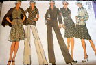 LOVELY VTG 1970s JACKET TOP SKIRT  PANTS Sewing Pattern 10 325