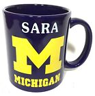 SARA University of Michigan Wolverines Team Coffee Mug Cup Football Sports