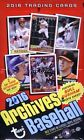 2016 Topps Archives Baseball Factory Sealed HOBBY Box- 2 AUTOGRAPHS