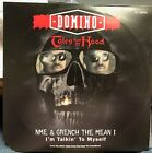 """DOMINO TALES FROM THE HOOD NME & GRENCH I'M TALKING 12"""" 1995 MCA 55039 DJ COPY"""
