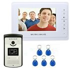 MOUNTAINONE 7 Color Video Intercom Door Phone System With 1 White Monitor Sale