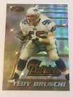 Tedy Bruschi 1996 Bowman's Best ATOMIC Refractor RC Rookie #162 Patriots