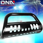 FOR 16-17 TOYOTA TACOMA PICKUP TRUCK STAINLESS STEEL BLACK BULL BAR GRILL GUARD